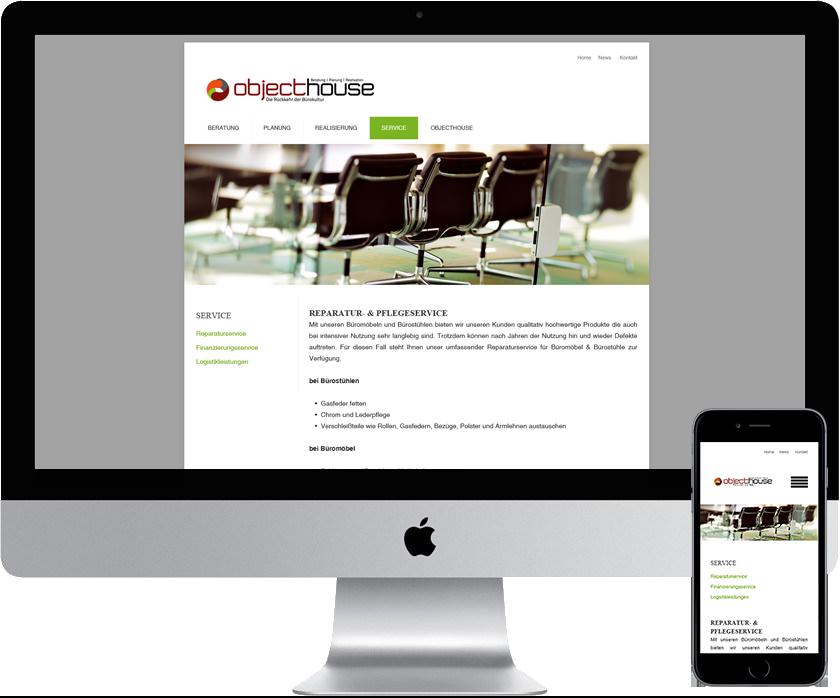 objecthouse GmbH Objecteinrichtungen